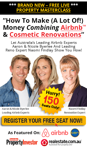 How to make money combining AirBNB and cosmetic renovation